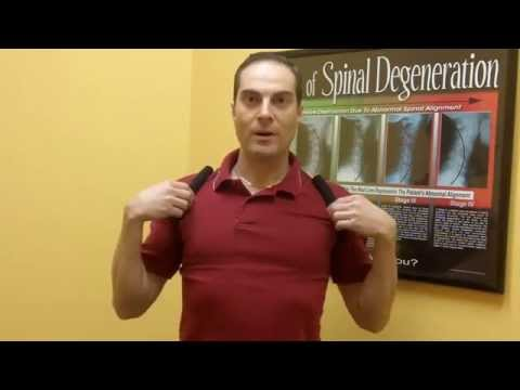 Posture Medic Brace to Fix Posture? Demonstration by Dr. Walter Salubro Chiropractor in Vaughan