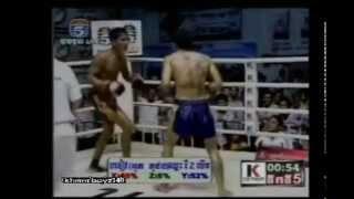 Khmer boxing, Ot Phuthong Vs. Prom Somnang