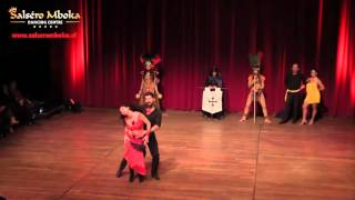 Salseromboka Dancing Center Optreden 2 Latin Dance Night 2015