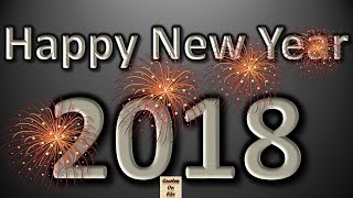Happy New Year video greetings with wishes quotes, happy new year animation, happy new year