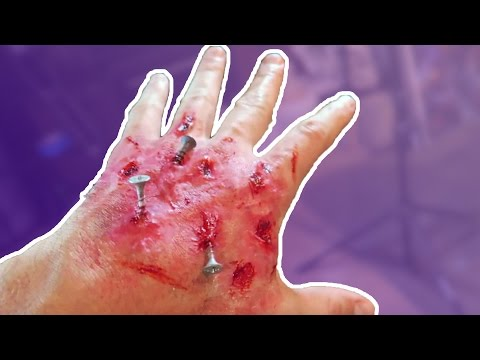 ZOMBIE SPECIAL EFFECTS MAKEUP FOR HALLOWEEN HOW TO PRANKS