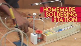 Make  soldering helping hands with loaded features