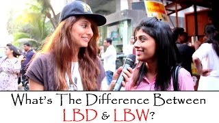 Difference Between LBD and LBW | Anusha Dandekar