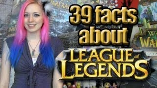 39 LoL Facts You May Not Know! :D