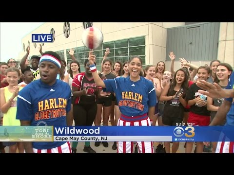 Tori Down The Shore: Harlem Globetrotters Celebrating Their 90th Year
