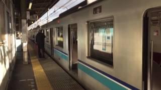 【客終合図】東京メトロ中野駅3番線 手旗による乗降終了合図
