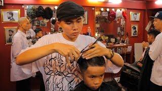 VIETNAM BARBERSHOP [Liem Barber] Kid Boy Haircut Style 2018