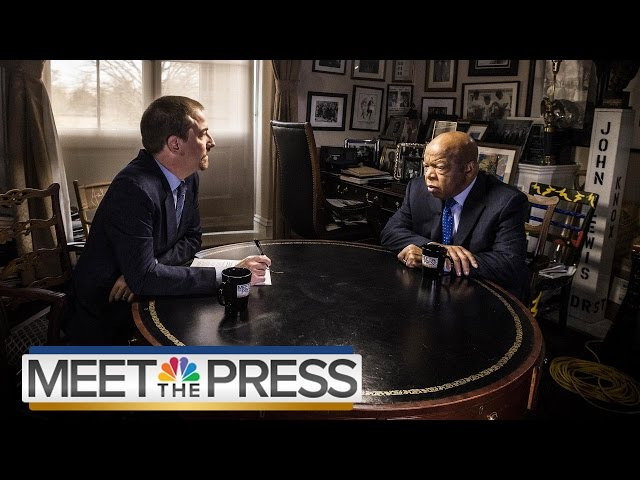 John Lewis On Trump, Russia: 'We Must Not Be Silent' (Full Interview) | Meet The Press | NBC News