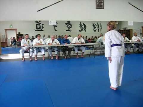 kata for brown belt international testing
