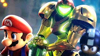 Super Smash Bros Ultimate Ridley Final Smash & New Cutscenes Movie 2018 (Switch)