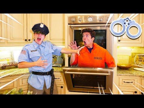 CAUGHT ESCAPING PRISON HIDE & SEEK IN PRESTON S HOUSE