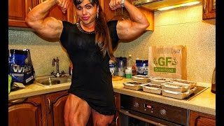 THE MOST MUSCULAR WOMAN IN THE WORLD !!! NATALIYA AMAZONKA !
