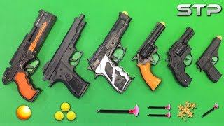 My Favorite TOP 6 Toy Guns of my Collection   Soft Dart & Plastic Ball Bullet Gun Shooting Test