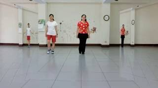 A Moment Of Romance (天若有情) - Line Dance (by Mayee Lee and Amy Yang)(dance & walk-through)