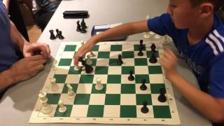 10 year old chess master vs International Master Greg Shahade