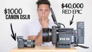 $1000 Camera VS  $40,000 Camera   Explained