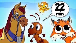 Animals Compiled Nursery Rhymes - Chellame Chellam - Cartoon/Animated Tamil Rhymes Kutty Chutties