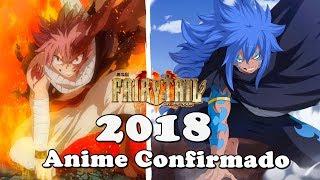 Confirmado o Retorno do Anime Fairy Tail 2018