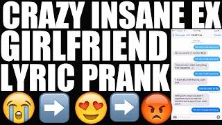 Song Lyrics Text Prank on EX GIRLFRIEND -