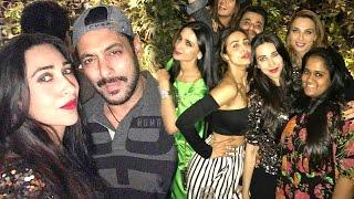 Salman Khan's Brother Sohail Khan's Wife's BIRTHDAY Party 2017 - Malaika,Iulia,Karishma