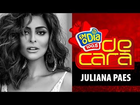 FM O Dia De Cara com Juliana Paes