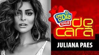 Juliana Paes De Cara na FM O Dia