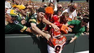 """NFL """"Lambeau Leaps"""" From The Visiting Team"""