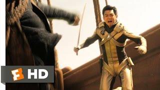 Star Trek (3/9) Movie CLIP - Drill Fight (2009) HD