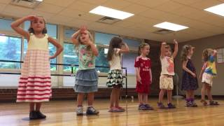 Acting class 4-year olds