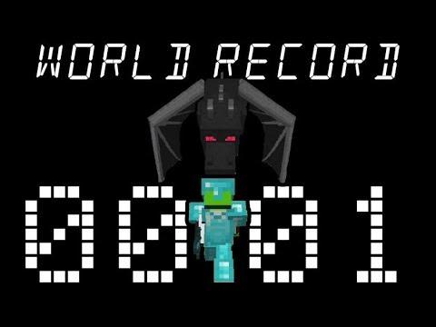 Minecraft Speedrun World Record 1.15