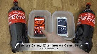 Samsung Galaxy S7 Edge vs. Samsung Galaxy S6 Coca-Cola Freeze Test 9 Hours! Will It Survive?!