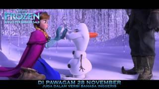 Disney Frozen: Anna & Permaisuri Salji - Treler BM (suara Liyana,Marsha&Ray) - Di Pawagam 28 Nov