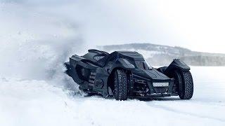 CAN THE BATMOBILE DRIFT ON ICE??? | VLOG 323
