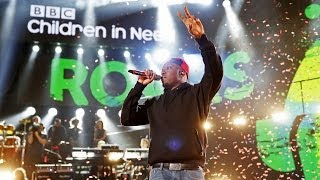 Dizzee Rascal  Love This Town At Children In Need Rocks 2013