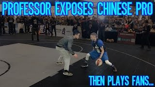 Professor EXPOSES Chinese Tournament Player! Then plays Fans