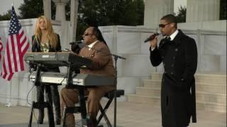 Shakira & Usher & Wonder - Higher Ground HBO Inaugural Concert 2009 HD