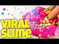 TESTING VIRAL SLIME TREND RECIPES AND HACKS! MAKING SLIME IN A MIXER AND MORE!