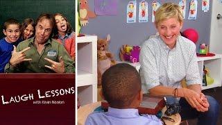 Ellen DeGeneres's Comedic Timing   Ep. 5   Laugh Lessons