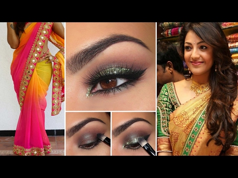 Xxx Mp4 Party Style Saree Draping With Party Style Makeup And Party Hairstyles Step By Step Party Makeup 3gp Sex
