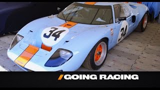 Ford GT Racecars And Marino Franchitti -- /GOING RACING WITH ADAM CAROLLA