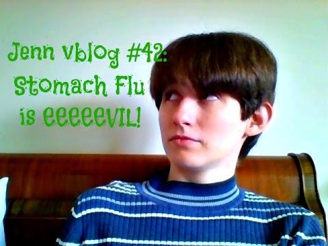 Jenn vblog #42: Stomach flu is eeeevillllllllll