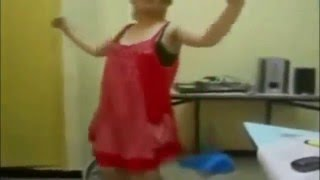 رقص بنات الجامعه رقص منزلي