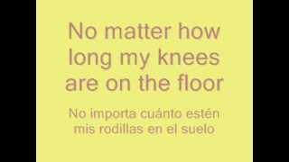 Bruno Mars - It will rain (with lyrics in english and spanish / con letra en español y en inglés)