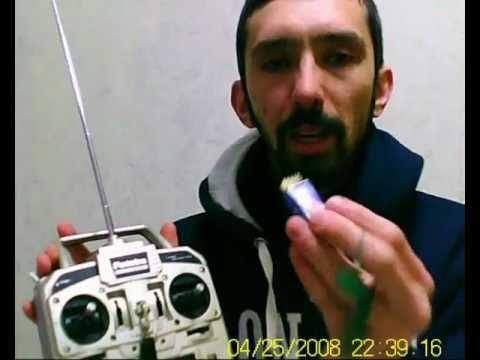 O que é Radio Controle receptor servos e ESC