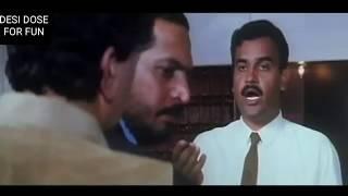 Nana Patekar and Rishi Kapoor comedy scene in Hum dono | Nana Patekar comedy |