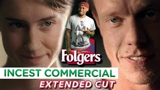 Banned Incest Folgers Commercial (Reaction Video) !!!