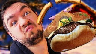 I'M A BURGER! | Facerig #1