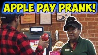 APPLE PAY PRANK!!