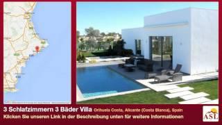 3 Schlafzimmern 3 Bäder Villa zu verkaufen in Orihuela Costa, Alicante (Costa Blanca), Spain