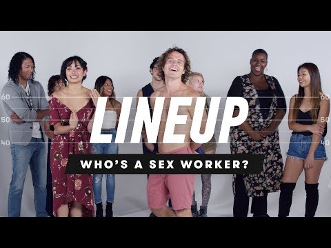 People Guess Who's a Sex Worker from a Group of Strangers   Lineup   Cut